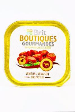 Brit Boutiques Gourmandes Venison Small Breed Meat150g