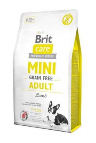 Brit Care Dog Mini Grain Free Adult Lamb 7kg