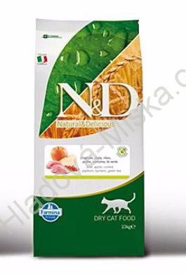 N&D GF CAT Adult Boar & Apple 10kg