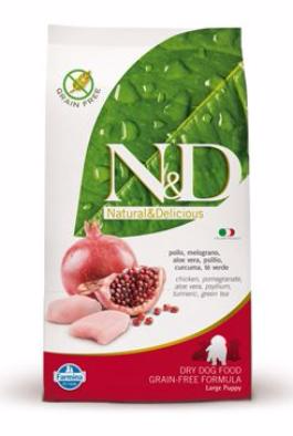 N&D GF DOG Puppy Maxi Chicken & Pomegranate 12kg