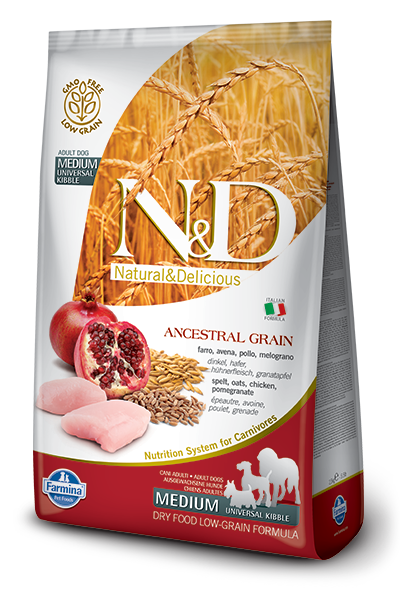 N&D LG DOG Adult Chicken & Pomegranate 12 kg