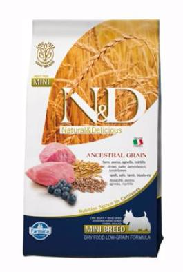 N&D LG DOG Adult Lamb & Blueberry 2,5kg