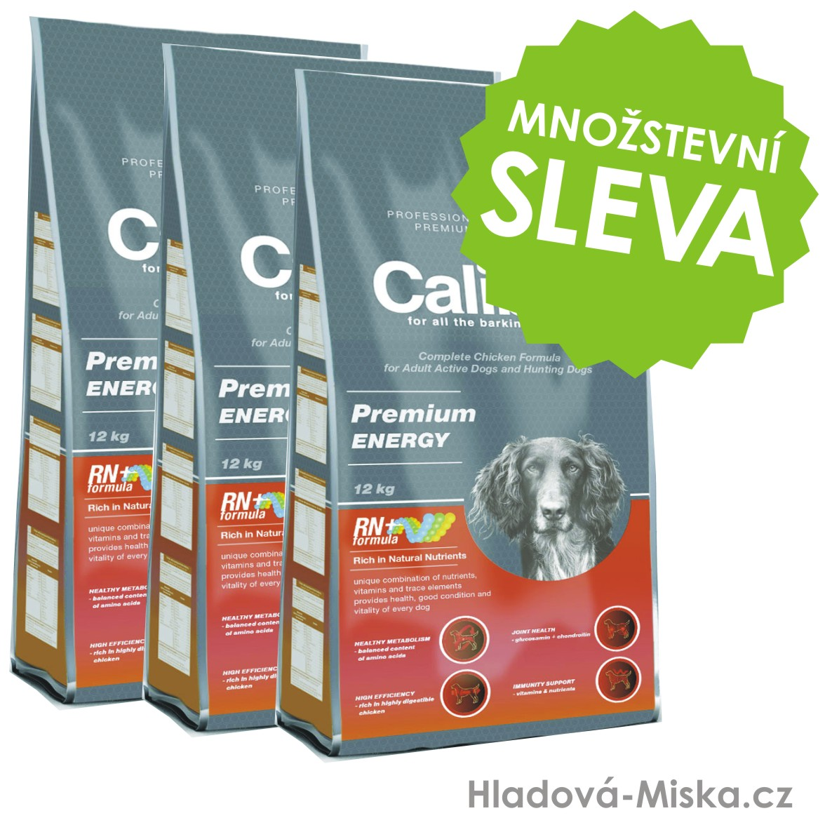 Calibra dog Premium ENERGY 3x12 kg