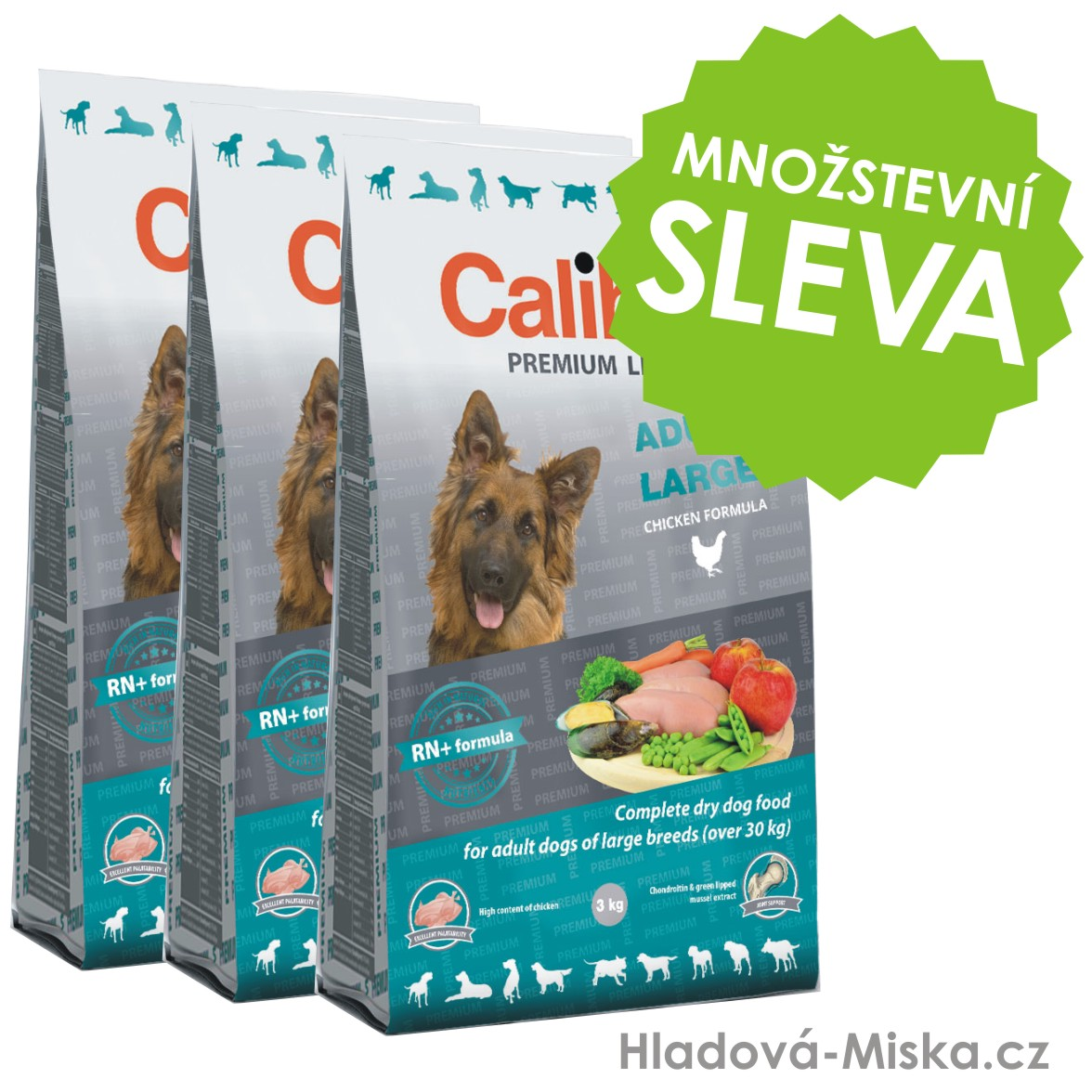 Calibra Dog Premium Line Adult Large 3x12kg