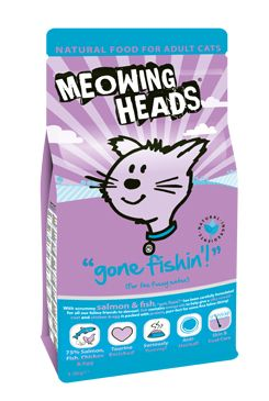 MEOWING HEADS Gone Fishin' 1.5kg