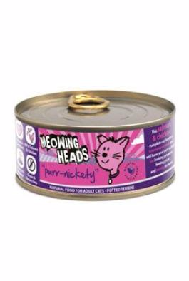 MEOWING HEADS Purr-Nickety konzerva 100g