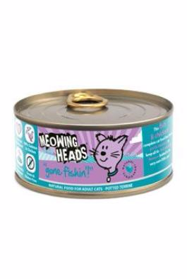 MEOWING HEADS Gone fishing konzerva 100g