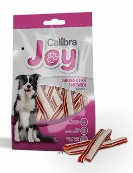 Calibra Joy dog Chicken & Fish Sandwich 80 g