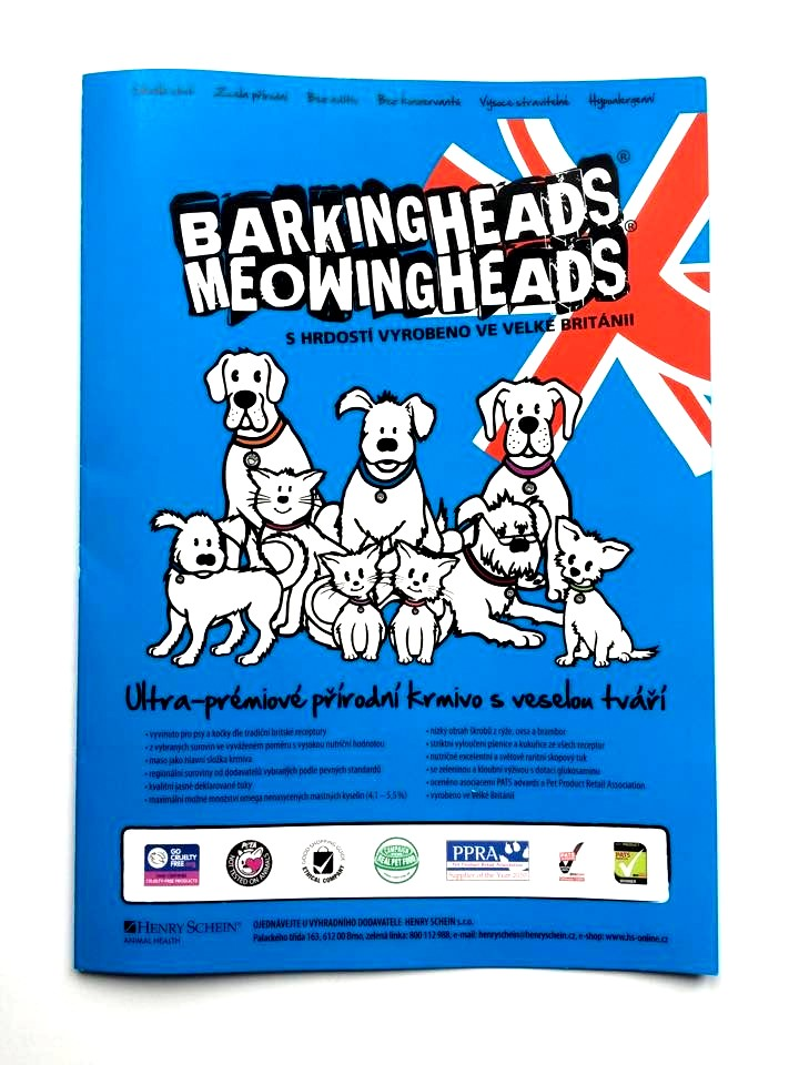 Brožura Barking heads & Meowing heads