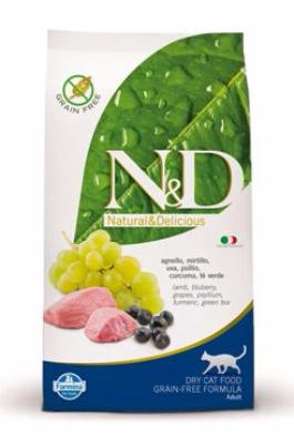 N&D GF CAT Adult Lamb & Blueberry 1,5kg