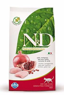 N&D GF CAT Adult Chicken & Pomegranate 300g