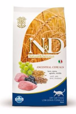 N&D LG CAT Adult Lamb & Blueberry 1,5kg